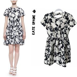 ☀️NWT☀️KATE SPADE ♠️ Jacquard Floral Print Dress